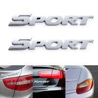 Auto Styling 3D ABS Logo Auto Aufkleber Sport Emblem Abzeichen Tür Aufkleber