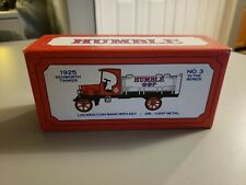 "1925 Kenworth Tanker ""Humble""  Locking Coin Bank"