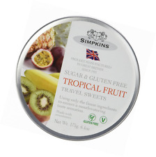 Insomma SUGAR & Senza Glutine DOLCI DA VIAGGIO-Gocce di frutta tropicale 175g x 6 CONF.