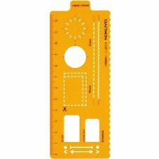 Kokuyo notebook accessory template ruler plan Ver. Two -JG7-2 Japan