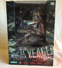 Kotobukiya ARTFX J EREN YEAGER Attack on Titan Anime Statue 1/8 PVC Figure