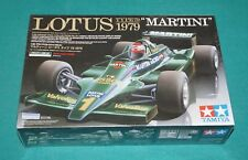 Lotus Type 79 Martini 1979 Tamiya 1/20 Factory Sealed.