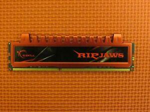 G.SKILL Ripjaws 4GB (1-Stick) PC3-10666 DDR3 1333 PC Memory F3-10666CL9Q-16GBRL