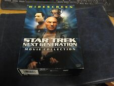 Star Trek: The Next Generation Widescreen Movie Collection DVD 1999 3-Disc Set