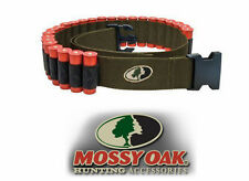 Shotgun Shell Ammo Belt - Mossy Oak 25 Round - Olive Drab / Black - 12g / 20g