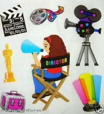 Sandylion MOVIE DIRECTOR Scrapbooking Stickers  G05 FAST SHIPPING