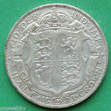 1923 George V Silver Half-Crown SNo24927