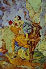 Quality Hand Painted Oil Painting Repro Van Gogh Good Samaritan 24x36in