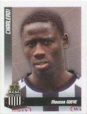 N°109 MOUSSA GUEYE # SENEGAL SPORTING CHARLEROI STICKER PANINI FOOTBALL 2011