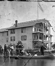 Old Photo. Grosse Ile, Michigan. Island House Hotel