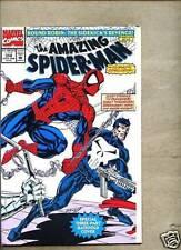 Amazing Spider-Man #358-1992 vf/nm  Spiderman Punisher