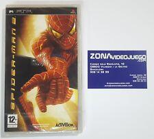 Spider-man 2, Sony PSP, PAL-ESP. Completamente en castellano, nuevo a estrenar.