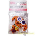 """Monster Doll Wanted Mobile Phone Accessory Daiso Japan - Orange Red Hearts 4.3"""""""