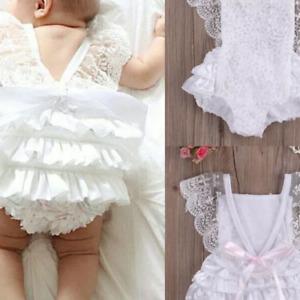 BABY GIRLS WHITE  ROMPER NEWBORN TO 12 MTS PHOTO PROP CAKE SMAS