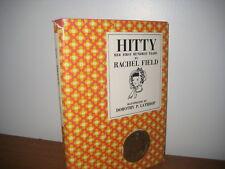 Hitty her first Hundred Years/ rachel Field/ hardback/jacket/newbery/ 1957