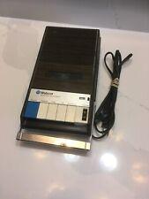Vintage Webcor Cassette Tape Deck Recorder # TC242 Wood Grain Brown
