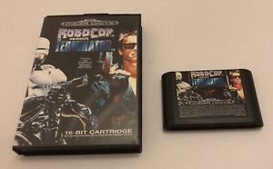Robocop Versus Vs The Terminator Sega Mega Drive Megadrive PAL Boxed
