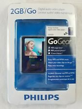 Philips GoGear SA3020 Blue ( 2 GB ) Digital Media Player new sealed video player