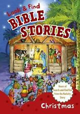 Look and Find Bible Stories: Christmas, B&H Kids Editorial Staff, Good Book