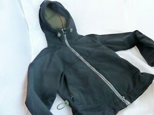 Maharishi Women's Coat Jacket Size Small UK 10 in Black Shower Repellent