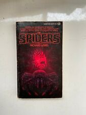 The Spiders by Richard Lewis 1980, Mass Market - Horror - Out of Print - Vintage