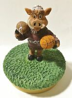 Arkansas University - Ceramic College Mascot Candle Topper by Talegaters