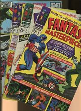 Fantasy Masterpieces 6,7,8,X-Men Special Edition 1 *4 Books* Marvel Super Hero
