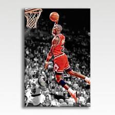 "Michael Jordan Chicago Bulls Tela Poster Print Foto Photo Wall Art 30"" x 20"""