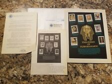 Treasures of Tutankhamun - Postal Commemorative Society World Of Stamps Series