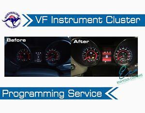VF HOLDEN CLUSTER DASH PROGRAMMING SERVICE COMMODORE INSTRUMENT HSV VE E3 V6 V8