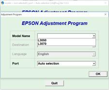 Reset Epson L3050, L3070 100%,Epson L3050, L3070 Adjustment Program