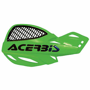 Acerbis Uniko Vented Handguards Green