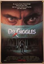 DR. GIGGLES DS ROLLED ORIG 1SH MOVIE POSTER LARRY DRAKE HORROR GORE (1992)