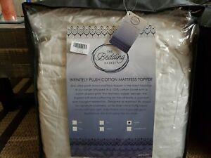 Queen Infinitely 3 Inch Ultra-Plush Cotton Mattress Topper