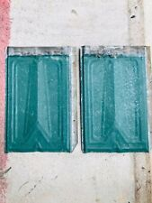 Vintage 14 x 9.5 Embossed Tin Ceiling Tiles Chippy Paint Lot (8)