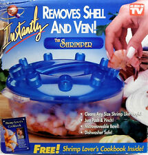 As Seen On TV The Shrimper Removes Shell And Vein On Any Size Shrimp