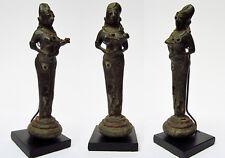 Très ancien bronze Femme à l'enfant Orissa Inde Tribal Bastar Bronze