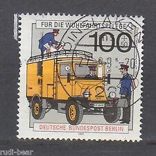 Berlin Nr.  878  gest.  Elektro Paket Zustellwagen um 1930    -5