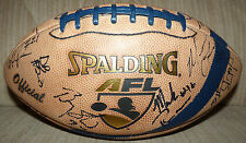 2006 Official AFL GRAND RAPIDS RAMPAGE AUTOGRAPHED SPALDING FOOTBALL AUTO SIGNED