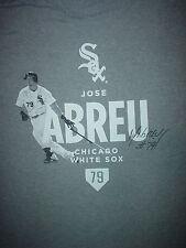 The CHICAGO White Sox JOSE ABREU #79 SGA Game Day Giveaway 2014 XL T SHIRT