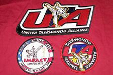 United Taekwondo Alliance Martial Arts Back Patch Uta Patches Mma Karate Gi Dogi