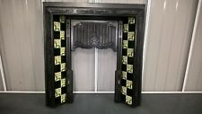 cast iron tiled insert ..OVER 80 TO CHOOSE FROM IN OUR EBAY SHOP..stock item 035