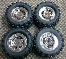 Set of 4 Brand New Redcat Racing Ground Pounder Wheels & Tires 12mm Hex