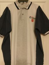 Clemson Tigers Size XL Polo Shirt Navy Blue, White, and Gray
