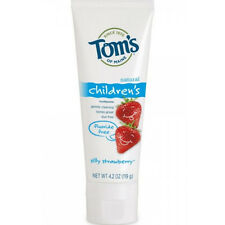 Tom's Of Maine Fluoride Free Toothpaste, Silly Strawberry 4.20 oz