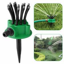 360° Lawn Sprinkler Head Automatic Garden Yard Water Sprayer Irrigation System
