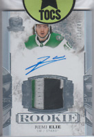 Remi Elie 2017-18 The Cup Rookie Patch/Auto 213/249 Dallas Stars 4 Color Patch