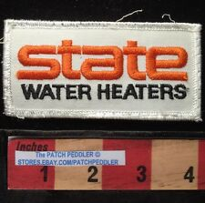 STATE WATER HEATERS Company Advertising Patch ~ Started In Nashville TN 61T3
