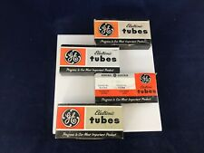 GE Electronic Tubes Empty Cardboard Sleeves lot of 4 Empty Sleeves for GE tubes