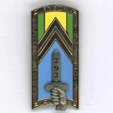 292° Promotion ENSOA3° Bataillon N° Insigne Arthus--Bertrand G 5354